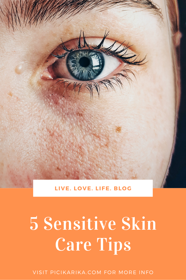 5 Sensitive Skin Care Tips