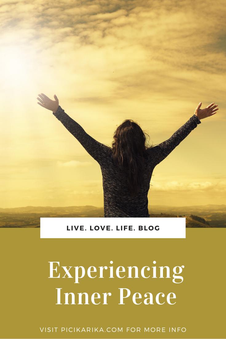 Experiencing Inner Peace