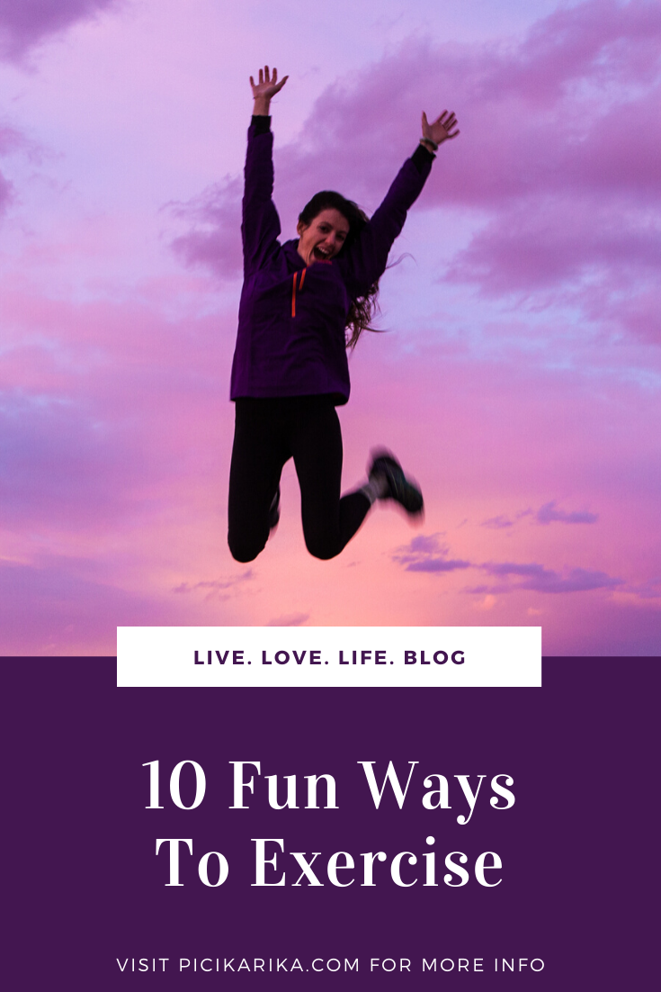 10 Fun Ways To Exercise