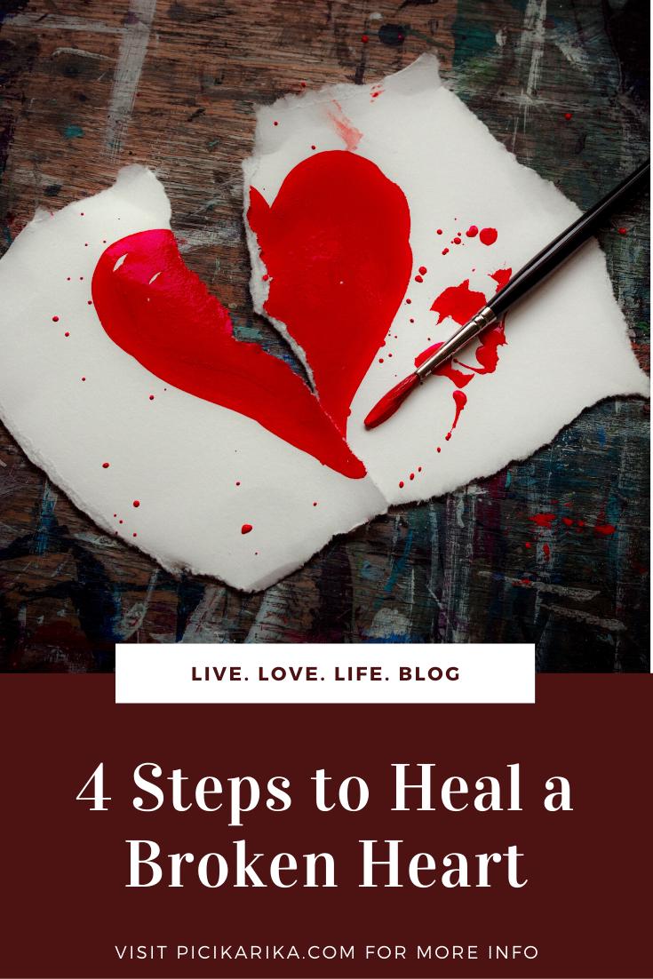 4 Steps to Heal a Broken Heart