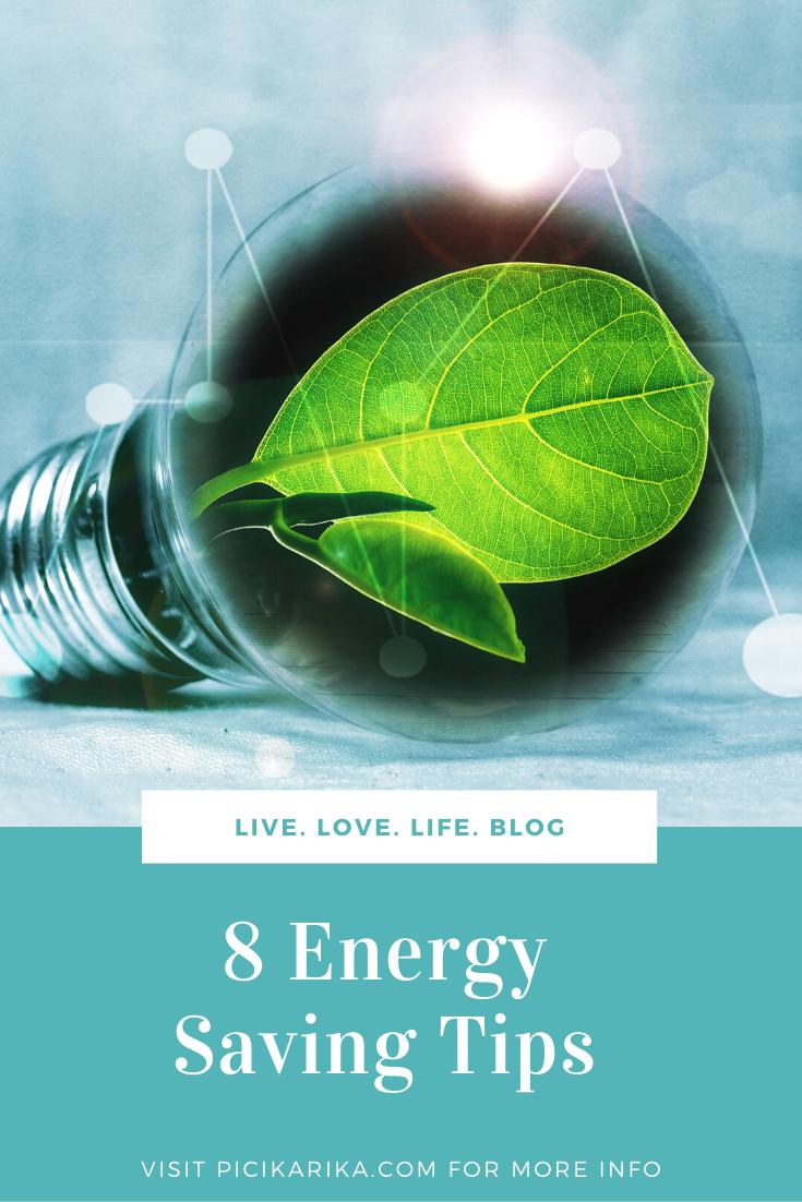 8 Energy Saving Tips