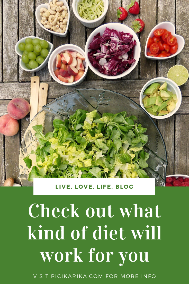 Check out what kind of diet will work for you
