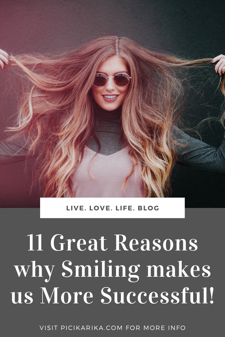 11 Great Reasons why Smiling makes us More Successful!