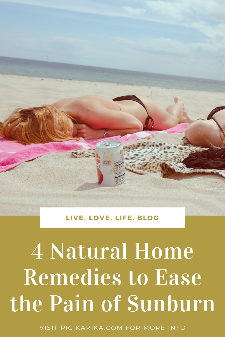 4 Natural Home Remedies to Ease the Pain of Sunburn