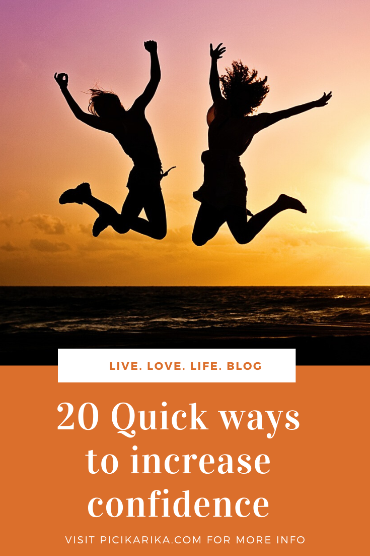 20 Quick ways to increase confidence