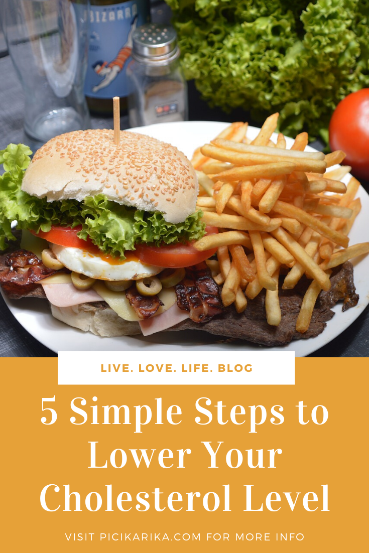 5 Simple Steps to Lower Your Cholesterol Level