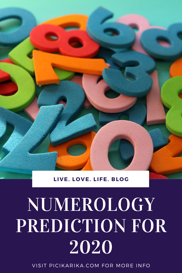 NUMEROLOGY PREDICTION FOR 2020: your personal numerological yearly horoscope