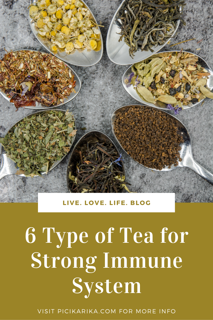 6 Type of Tea for Strong Immune System, and Fight Against Viruses